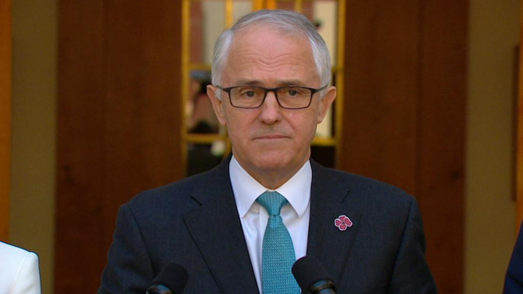 Turnbull: We had a very warm discussion. It couldn't have been warmer