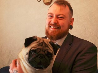 Meecham and the quarter-million-dollar pug