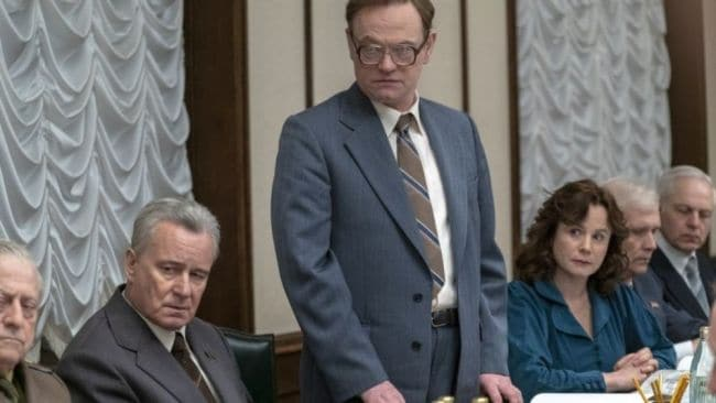 Valery tries to plead his case. Photo: HBO