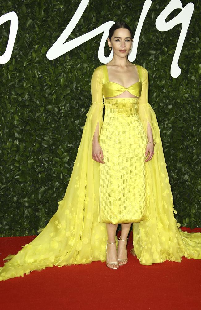Emilia Clarke. Picture: Joel C Ryan/Invision/AP