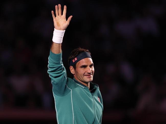 Federer is one of sport's most loved figures.