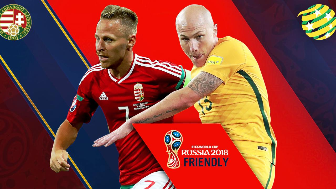 Socceroos take on Hungary in their final World Cup warm-up