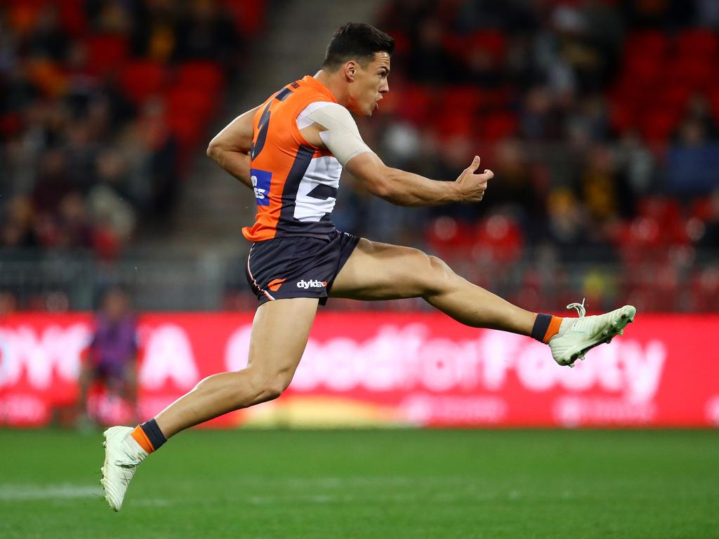Dylan Shiel is contracted to the Giants until 2019.