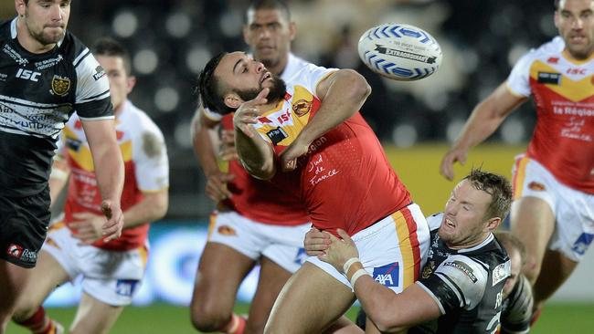 Former Catalans hooker Eloi Pelissier will be one to watch for France.