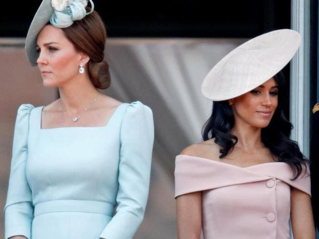 Kate and Meghan reportedly don't get along.
