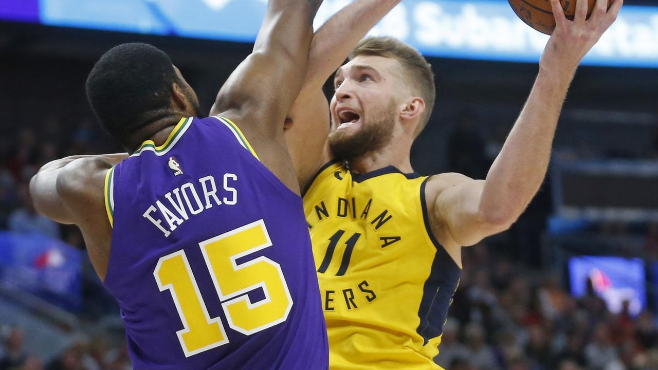 Indiana Pacers forward Domantas Sabonis.