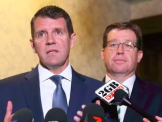 Gone and goner: Mike Baird and Troy Grant