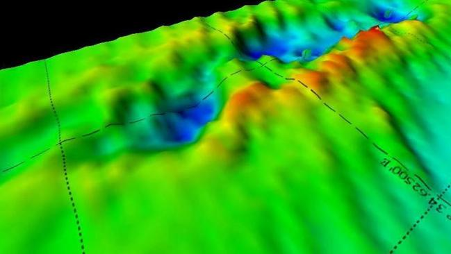 Underwater mapping has revealed that the wreck of the HMS Exeter has vanished, leaving a ship sized hold on the Java Sea bed.