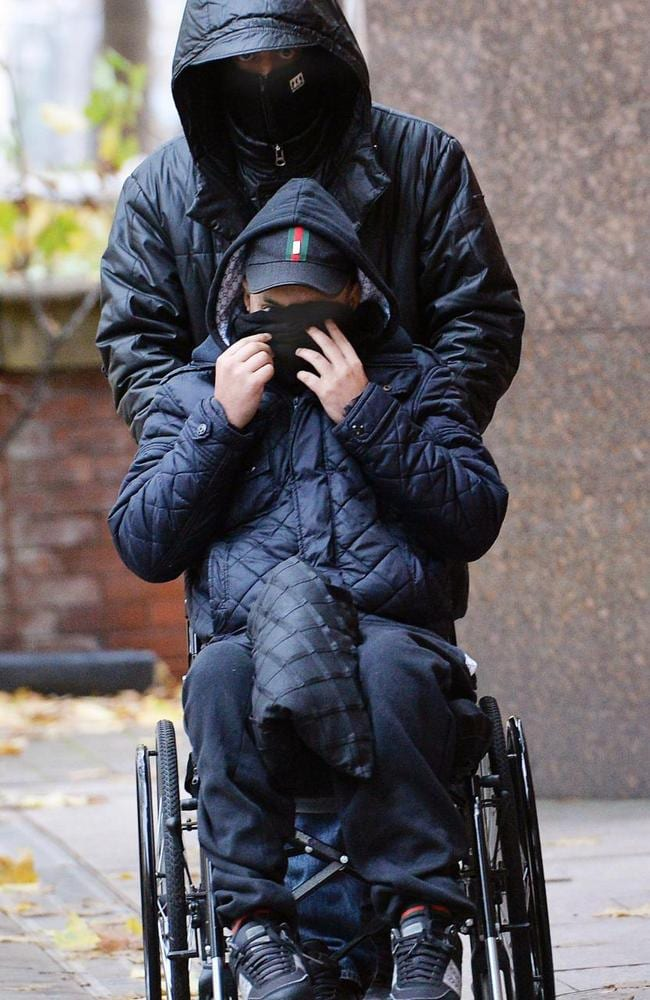 Hussain is now in a wheelchair having been hit in the stomach during a gangland shooting in 2005