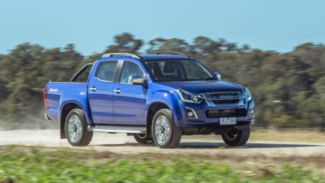 The D-Max has a reputation for unbreakable reliability.