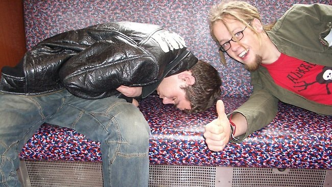This sleeping position was given the thumbs-up. Picture: Dabjonni/Flickr