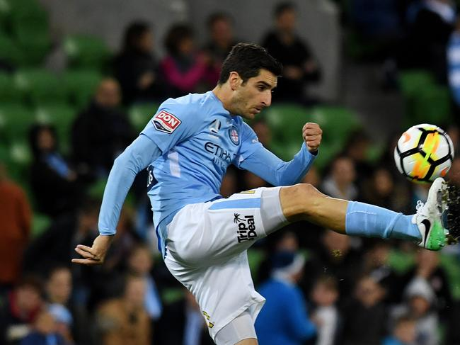 Iacopo La Rocca now plays for Melbourne City. Picture: AAP Image/ Tracey Nearmy.