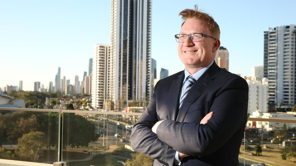 The Star's Queensland managing director Geoff Hogg. Picture Glenn Hampson