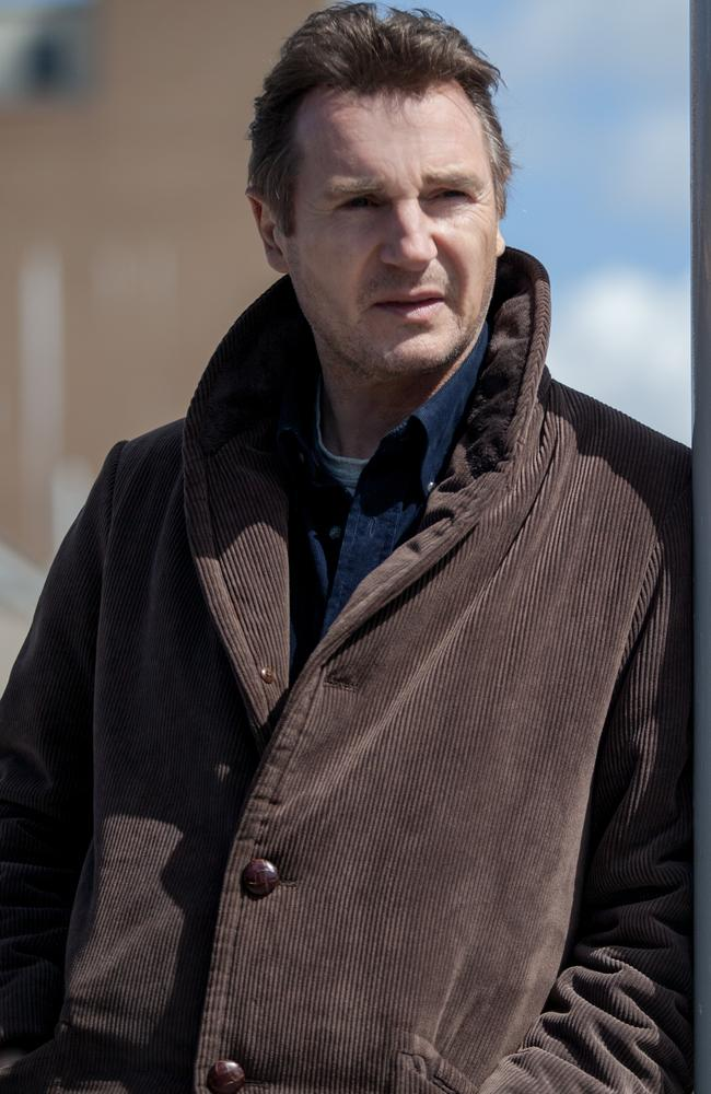 """Convinced it was going to be a good movie"" ... Liam Neeson in a scene from film A Walk Among the Tombstones."