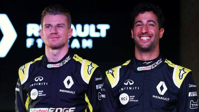Hulkenberg has been outpaced by Ricciardo this season.