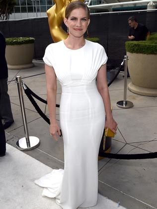 White hot on the red carpet at the 2014 Emmy Awards.