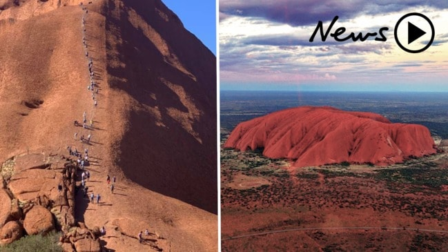 Tourists flock to climb Uluru ahead of ban