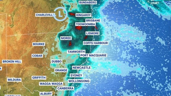 Weekend weather: Heavy rain to hit east coast, cold front for Perth