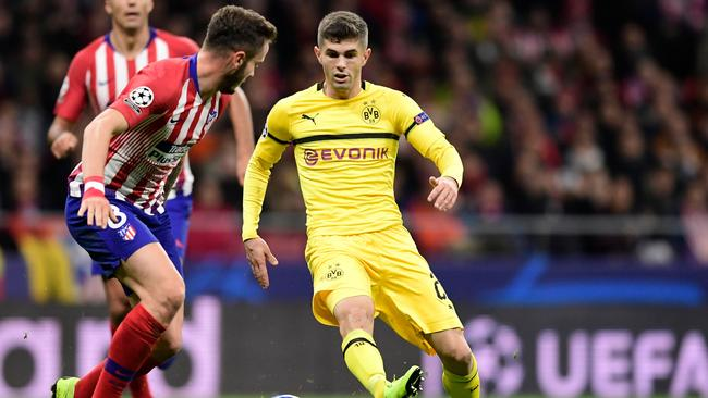 Pulisic has been on the radar of some of Europe's biggest clubs.