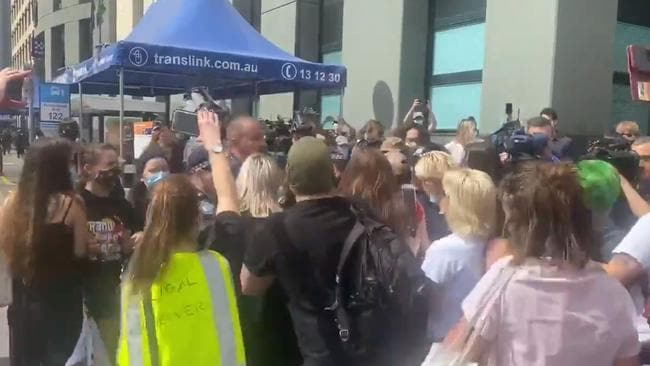 Brisbane Black Lives Matter protesters arrested amid rally chaos – NEWS.com.au