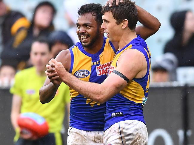 Willie Rioli was stood down for the Eagles' loss to the Cats.