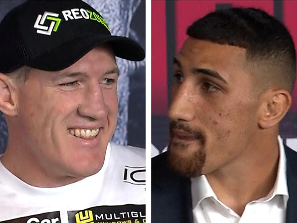 Paul Gallen delivered a brutal whack at Australian heavyweight champion Justis Huni.