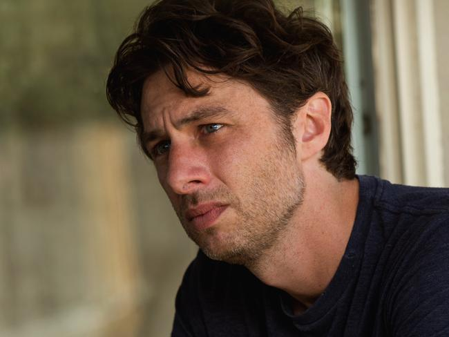 Apology ... Zach Braff has said sorry for his tweet. Picture: Supplied.