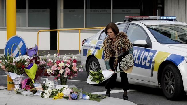 "Ms Arden said New Zealand is experiencing a ""form of grief and anger that we have not experienced before"". Picture: AP Photo/Mark Baker"