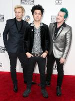 Mike Dirnt, Billie Joe Armstrong and Tre Cool of Green Day attends the 2016 American Music Awards at Microsoft Theater on November 20, 2016 in Los Angeles, California. Picture: Getty