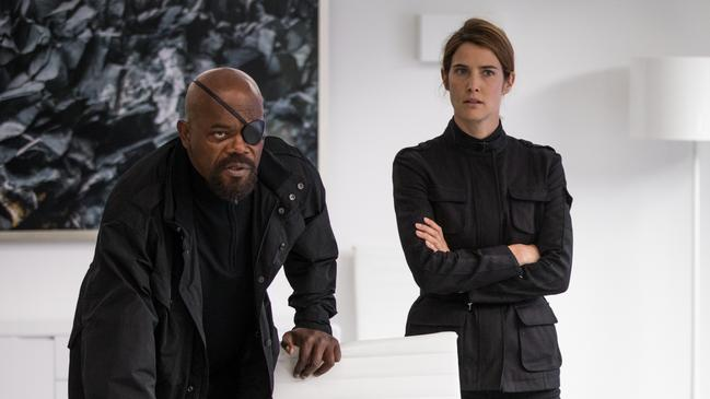Not Nick Fury and Maria Hill
