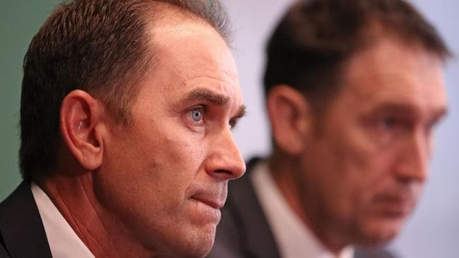 Justin Langer has been installed as Australia's new cricket coach.