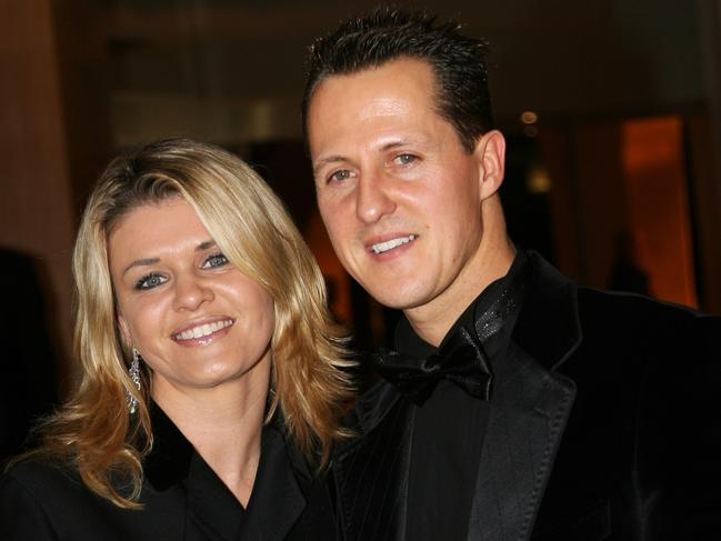 Corinna and Michael in 2006.