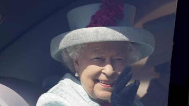 The Queen made a surprise visit to Meghan and Harry ahead of the royal birth. Picture: Kirsty Wigglesworth. Source: Getty Images