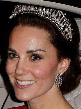 While Kate has donned them on a handful of state occasions since getting married