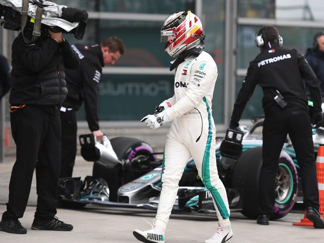 Lewis Hamilton had a weekend to forget.