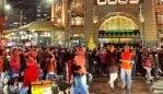 Protest erupts in Melbourne