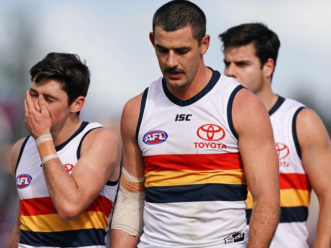 Taylor Walker stood down from the captaincy.