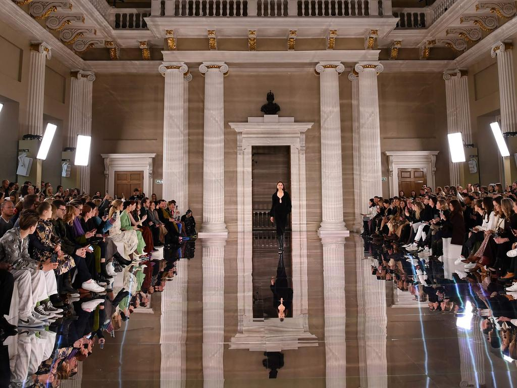 The scene at Banqueting House. Picture: AFP