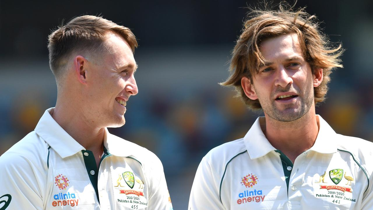 Marnus Labuschagne and Joe Burns will be looking to cement their places in the top six.