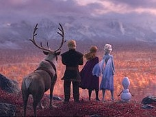 Disney has released the first look at Frozen 2. Picture: Supplied