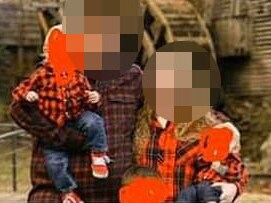 An American mum who uploaded a bunch of family photos to her Facebook page asked followers if they knew how to crop her stepson out of some images. Picture: Reddit