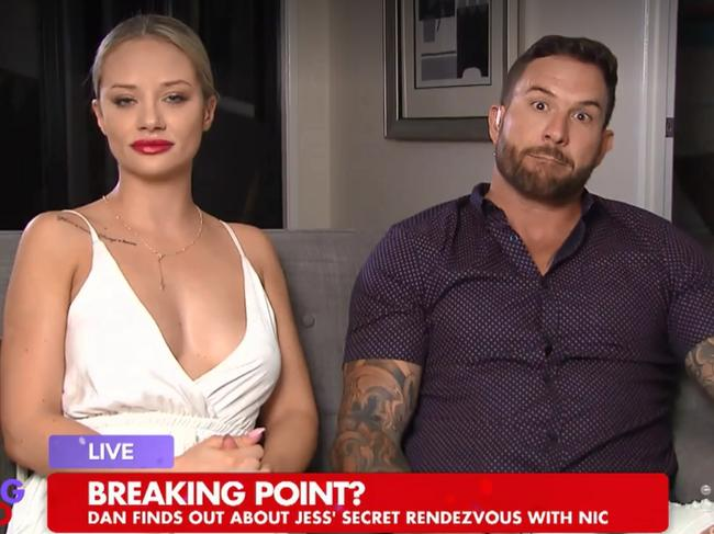 Are Mafs Jess And Dan Still Together Jess Addresses: Married At First Sight: Dan Denies Cheating On Jessika