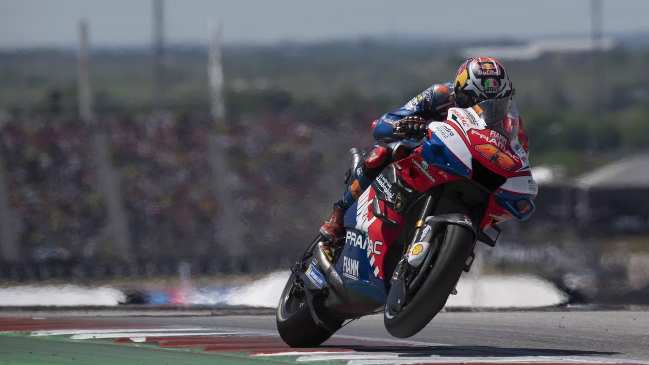 Miller rides to third in the Grand Prix of The Americas in April.