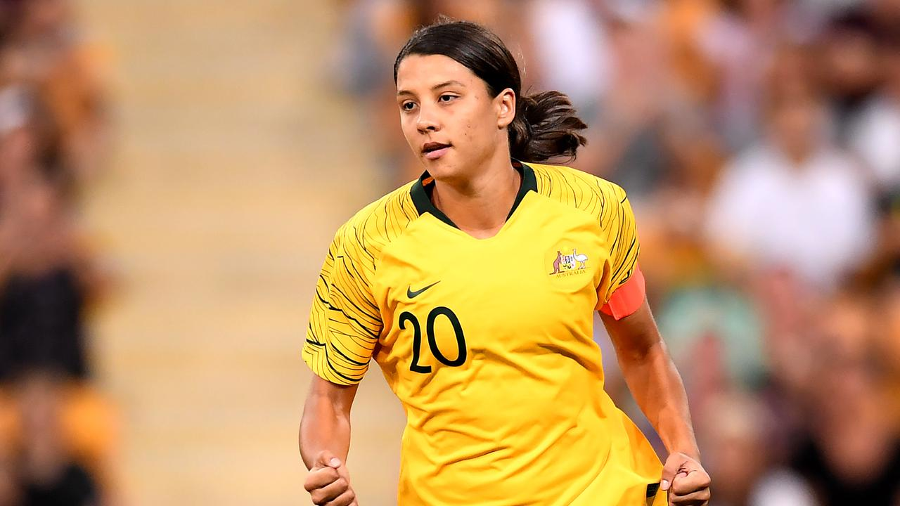 Sam Kerr has been nominated for the BBC Women's Footballer of the Year award