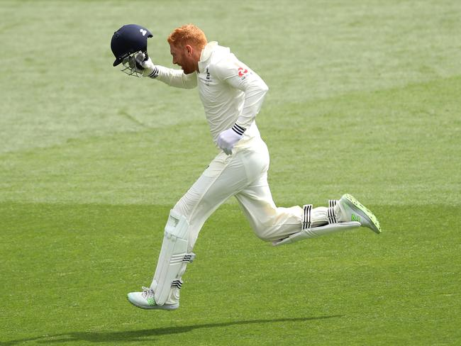 The Poms are hopping mad to bat Jonny Bairstow at seven, Willis says. (Photo by Cameron Spencer/Getty Images)