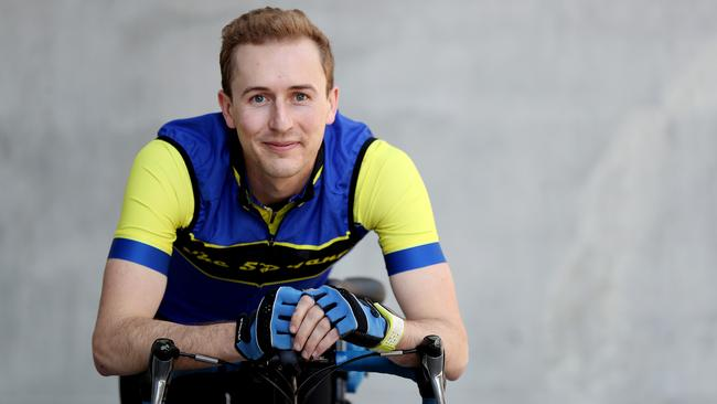 John Bryant has turned his efforts to fundraising for Beyond Blue after his father and respected gastroenterologist Dr Andrew Bryant took his own life. Picture: Tara Croser.