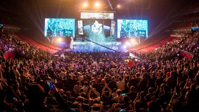 A view of Qudos Bank Arena in Sydney for the IEM Sydney esports event. Credit: ESL