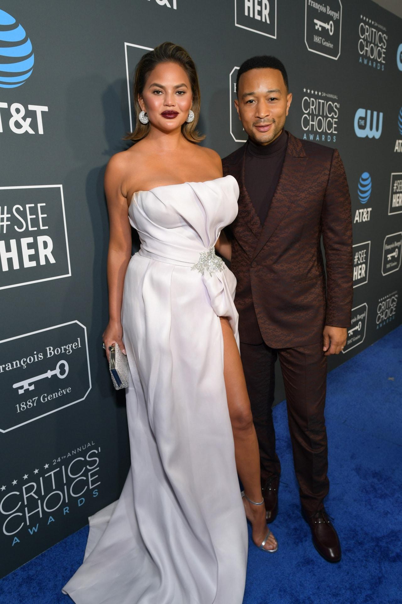 Chrissy Teigen and John Legend got into a big fight at Kim Kardashian's wedding