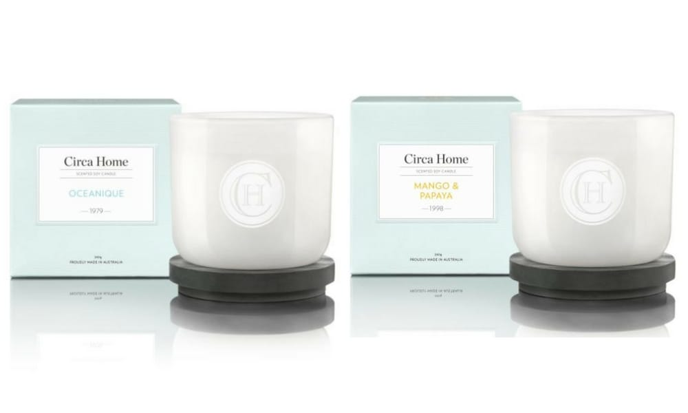 CIRCA HOME CANDLE $29.95 (MYER): Candles are a staple gift when it comes to Christmas, but the ones from Circa Home not only smell good – but they're full size too.