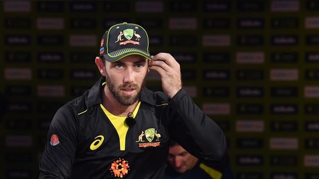 Glenn Maxwell is taking a break from cricket to deal with mental health issues. Picture: AAP